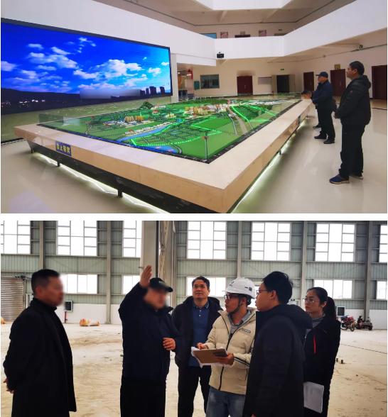 22天!建筑隔断新材料投资选址项目精准落地广西钟山县,5天后开工建设