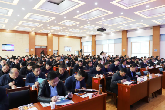 甘肃甘南州特邀东方龙商务集团举行政府招商引资能力提升培训班