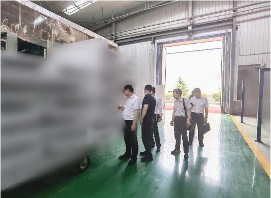 知名老牌制造商!陕西某地方政府成功对接考察高品质节能建材制造投资选址项目企业