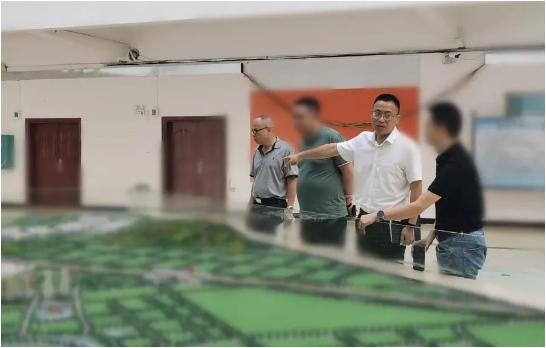 专业引领,合作进程加速!广西某地方政府成功考察触控显示扩建投资选址项目企业